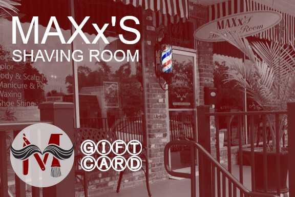MAXx'S Shaving Room Gift Card